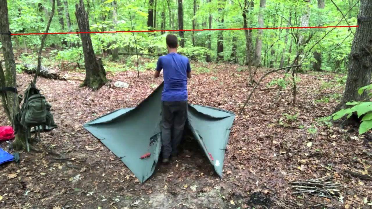 Hängematte Tarp oder Zelt