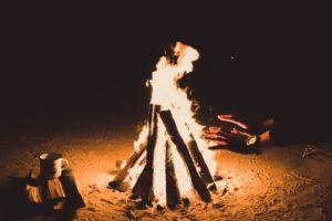 Was ist ein offenes Feuer?